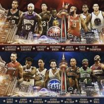 NBA All Star Game - La scelta delle 'riserve': assenti Lillard e Gallinari
