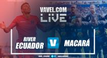 RiverEcuadorse lleva su primera victoria con una goleada(3-0)