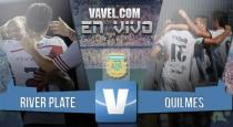 Resultado River Plate vs Quilmes en la Liga 2016 (5-1)