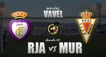 Real Jaén - Real Murcia: la vida en dos horas