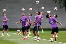 Primera toma de contacto del Real Madrid en Montreal