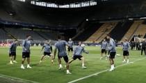 Último entrenamiento del Real Madrid antes de la Champions
