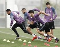 Último entrenamiento del Real Madrid antes de viajar a Mendizorroza