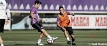 Modric y Morata vuelven a trabajar con el grupo