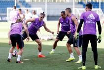 Todo listo en el Real Madrid para recibir al Celta