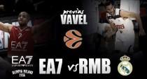 Emporio Armani Milan - Real Madrid: doble sesión de Euroliga