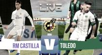 El CD Toledo acaba con la buena racha del Castilla