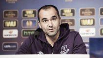 """Roberto Martínez: """"La Europa League ha sido una experiencia fenomenal para nosotros hasta ahora"""""""