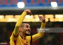 Watford's Pereyra sent to Udinese to recover from knee injury