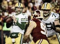Los Packers arrasan a unos Redskins inconsistentes