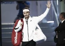 """Roger Federer: """"Era consciente de que si estaba concentrado no iba a perder el partido"""""""