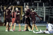 El Shaarawy tem noite de garçom, Roma goleia e rebaixa Pescara