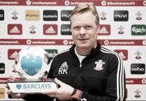 Koeman estrena 2016 como entrenador del mes