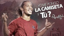 Cienciano anunció curioso spot con Ronaldinho