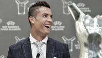 """Cristiano Ronaldo: """"Hay que disfrutar de este premio, que ha costado ganarlo"""""""