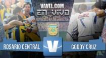 Resultado Rosario Central vs Godoy Cruz por el Campeonato Argentino 2016 (1-0)