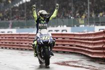 """Valentino Rossi: """"Estoy muy contento y orgulloso de esta victoria"""""""
