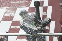 "Valentino Rossi: ""He tenido suerte por acabar segundo"""