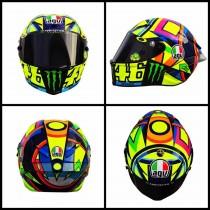 MotoGP, nuovo casco per Rossi