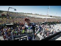 Misano : Rossi porté jusqu'au sommet