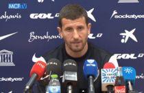 """Javi Gracia: """"Demostremos que volvemos a competir al mismo nivel"""""""