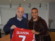 Robin Quaison arrives while José Rodriguez leaves 1. FSV Mainz 05