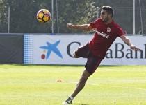 Koke, sancionado, y Giménez, descartado, no estarán ante el Málaga