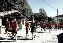 La Ruta del Alba, nuevo escenario de entrenamiento para el Sporting