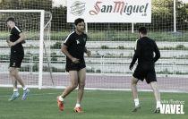 El entrenamiento del Málaga CF en imágenes