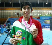 Consigue México segunda medalla en Nanjing