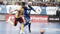 Movistar Inter golpea primero en la final de Liga