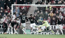 Sunderland 2-1 Manchester United: Late De Gea own goal gifts Black Cats three points