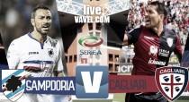 Risultato Finale Sampdoria - Cagliari in diretta, LIVE Serie A 2016/2017 (1-1) Quagliarella risponde a Isla. Finisce in pareggio