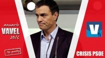2016, el annus horribilis del PSOE