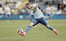 """Sandro: """"Quiero triunfar en el Málaga"""""""