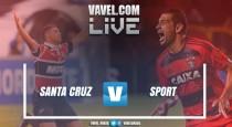 Resultado Santa Cruz x Sport no Campeonato Pernambucano 2017 (1-1)