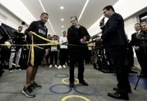 Boca inauguró el gimnasio Julio Santella