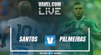 Resultado e gols jogo Santos x Palmeiras no Campeonato Paulista 2017 (2-1)