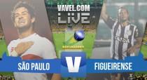 São Paulo x Figueirense ao vivo online no Brasileirão Série A 2015