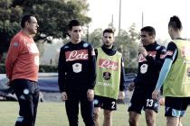 Napoli, ritorno al lavoro con la testa alla Sampdoria