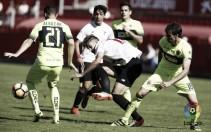 El Elche tira el partido y el Sevilla Atlético no falla