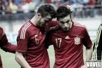 Fotos e imágenes del España 1-2 Serbia sub-21, eliminatoria clasificatoria para la Eurocopa