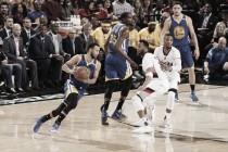 NBA playoffs, sweep dei Warriors a Portland: vinta anche gara-4 (103-128)