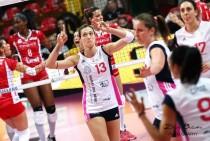 Volley, A1 femminile - Settima di ritorno: Scandicci, che caduta. Bene Bergamo, Conegliano, Busto e Modena.