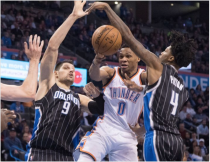 Oklahoma City Thunder Face Off With NBA Champion Golden State Warriors In Primetime