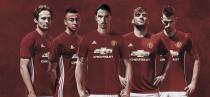 Manchester United reveal 2016/17 home kit