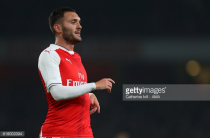 Arsenal striker Lucas Perez ruled out for six weeks with ligament damage