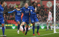 Stoke City 2-2 Leicester City: 10-man Foxes complete two-goal comeback at Bet365 for second straight season