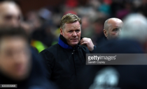 "Ronald Koeman pleased with Everton performance after ""fair"" draw away at Stoke City"