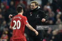 Jürgen Klopp full of praise for Adam Lallana after midfielder signs new Liverpool contract